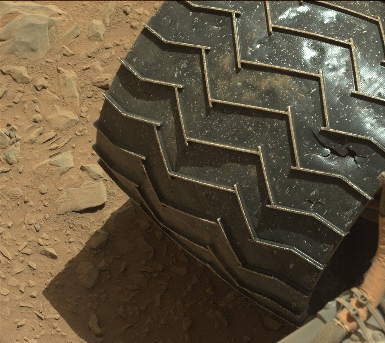 Rover Wheel Damage