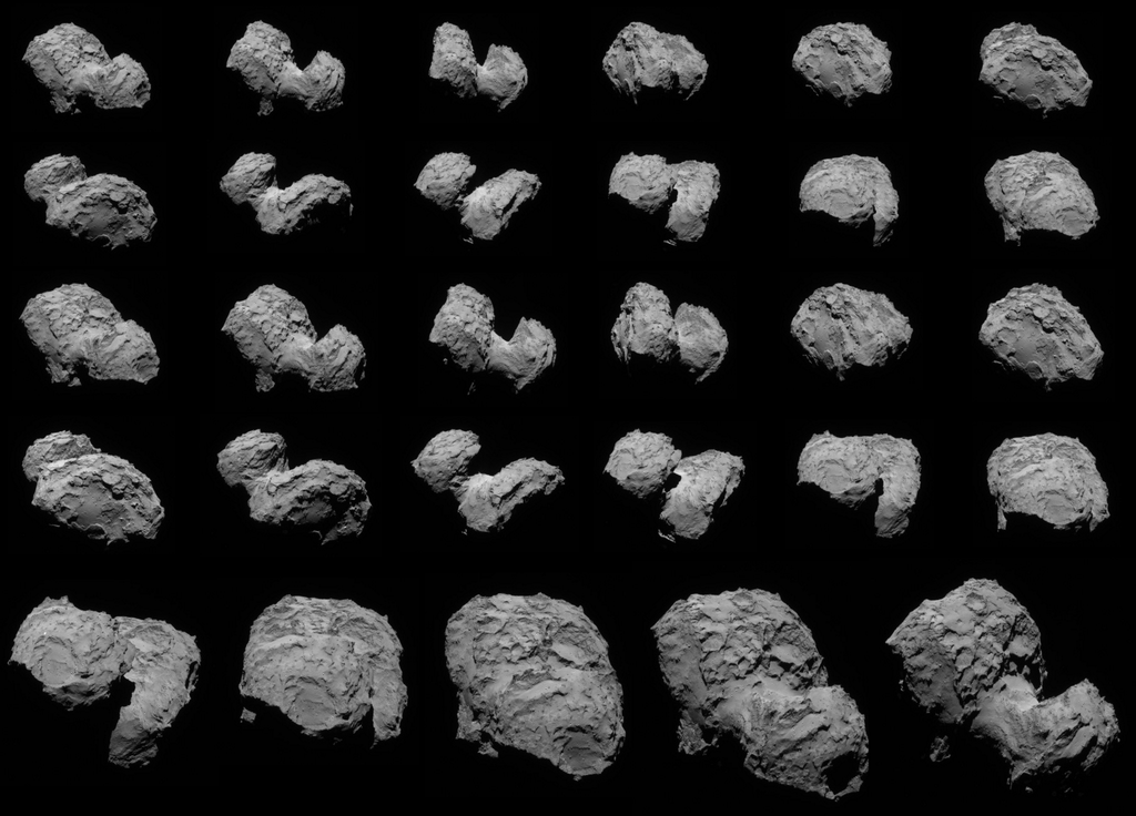 Comet 67P Images