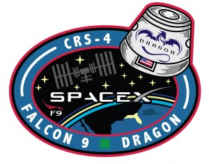 crs4 mission patch
