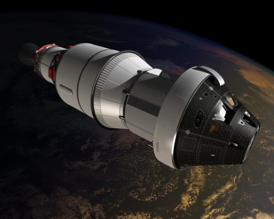 NASA has announced that it will conduct an unmanned test flight called the Exploration Flight Test-1 or EFT-1 in 2014. Image Credit: NASA.gov