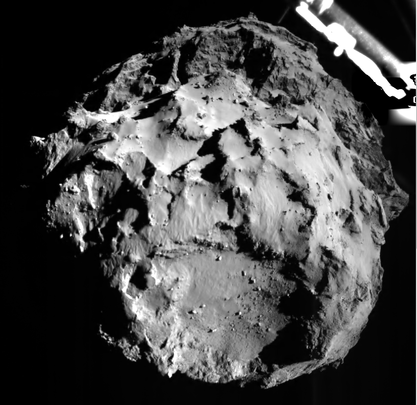 Image of Comet from Philae as it descended