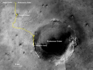 Opportunity Rover's Full Marathon-Length Traverse