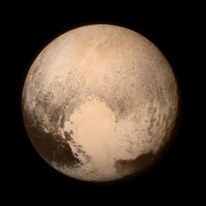Latest image of Pluto released during the Flyby